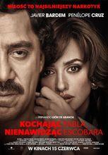 Plakat filmu Kochając Pabla, nienawidząc Escobara