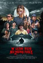Plakat filmu W lesie dziś nie zaśnie nikt