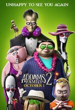 Plakat filmu Rodzina Addamsów 2
